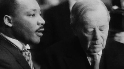 Martin Luther King får Nobels fredspris 1964