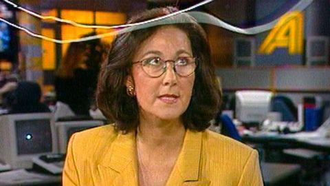 Anita Jekander och sladdarna