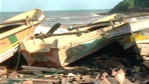 """Tsunamikatastrofen - """"Aktuellt"""" 27/12 2004"""