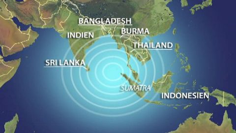 """Tsunamikatastrofen - """"Aktuellt"""" 26/12 2004"""