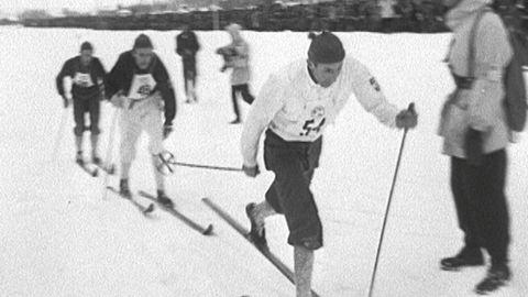 SM på skidor 1951