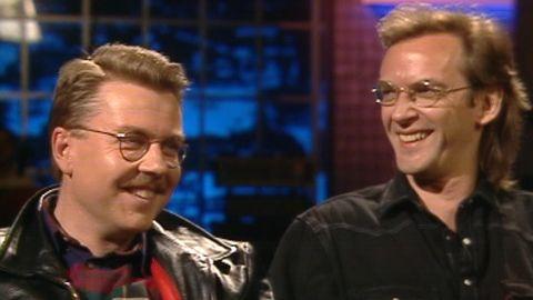 Mikael Wiehe och Björn Afzelius