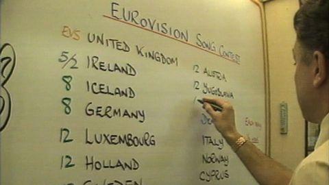 Vadslagning på Eurovision Song Contest
