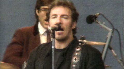 Bruce Springsteen i Aktuellt 1988