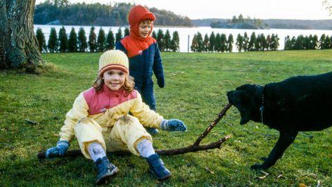 Nyårsbesök på Drottningholm
