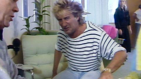 Rod Stewart ratar kräftor