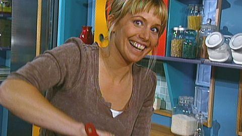 Tina Nordström fixar efterrätt med kola