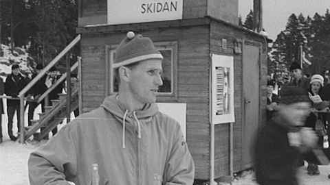 Skid-SM i Hudiksvall 1960