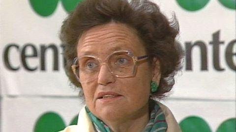 Karin Söder blir partiledare för Centerpartiet