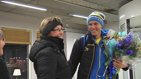 Björn Ferry hyllas efter OS 2010