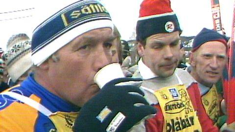 Ingemar Johansson åker Vasaloppet