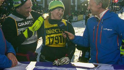 Avsnitt 227 av 300: Anja Pärson efter Vasaloppet 2013