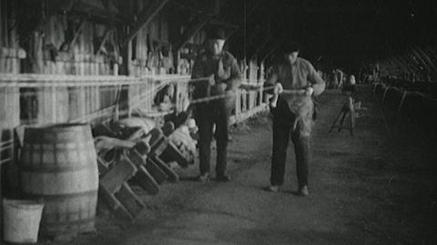 Avsnitt 7 av 200: Repslageri i Hagalund (utan ljud) 1934