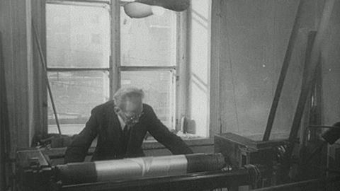 K A Almgrens sidenfabrik på Söder (utan ljud) 1943