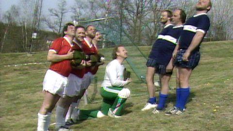Fotbollslandskamp mot Schweiz