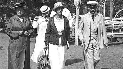 Stockholmare på sommarnöje 1920