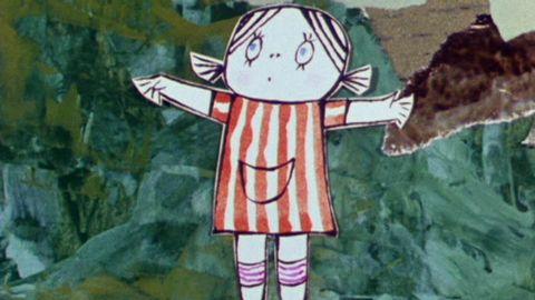 Avsnitt 16 av 20: Lilla Anna skrämmer Långa Farbrorn.
