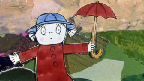 Avsnitt 4 av 20: Lilla Anna och Långa Farbrorn går i mörkret