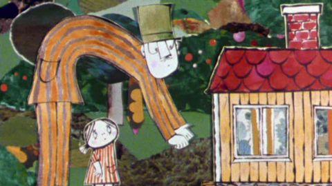 Avsnitt 5 av 20: Lilla Anna tittar i trollerititthålet