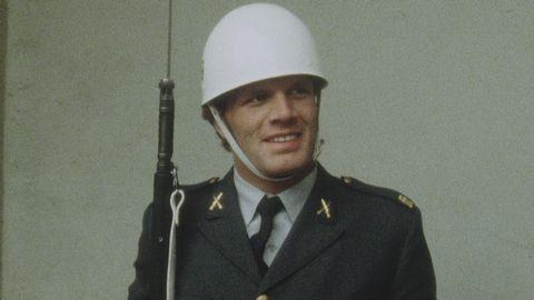 Frank Andersson i högvakten