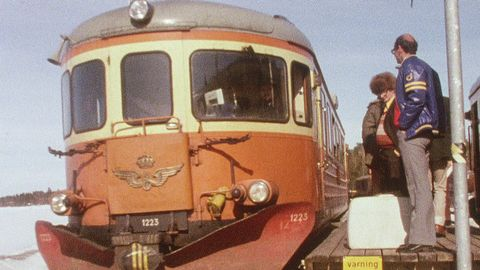 Undra på att det finns tåg