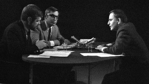 Olof Palme intervjuas 1970