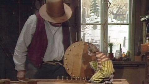 Avsnitt 6 av 24: Pettson bygger ett kugghjul