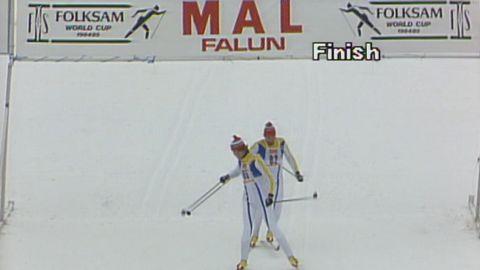 Svenska skidspelen 1985