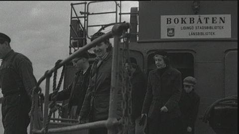 Bokbåt 1954