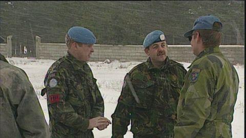 Svenska FN-soldater i Bosnien