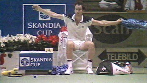 John McEnroe i Stockholm Open