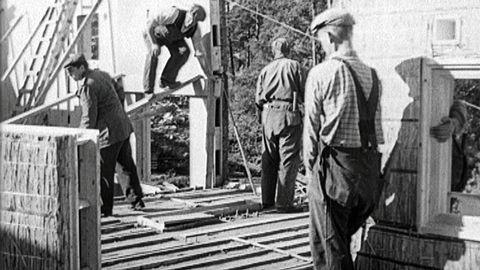 Monteringsfärdiga stenhus 1943