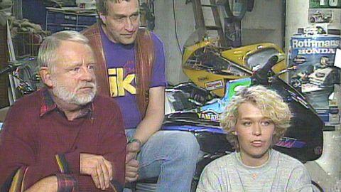 Grabbarna i garaget