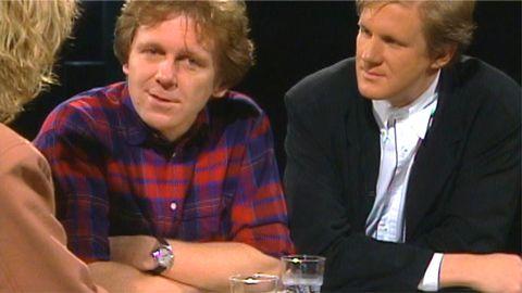 Jerry Williams och Joakim Thåström