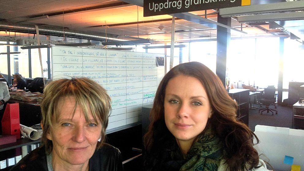 Uppdrag gransknings Lena Laurén och Josephine Freje.