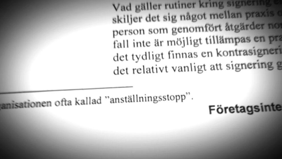 Ägaren Vattenfall hade stoppat rekryteringen av en brandspecialist till Ringhals.