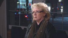 Lena Ek (C) intervjuas av Janne Josefsson.