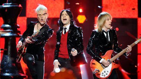 """Bild på Melody Club, som tävlade med """"The Hunter"""" i Melodifestivalen 2011."""
