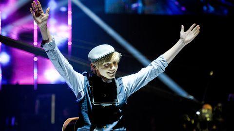 "Bild på Ulrik Munther, som tävlar med bidraget ""Soldiers"" i Melodifestivalen 2012."