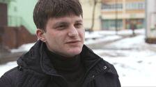 Pavel Privalov i Vitryssland greps förra sommaren när han försökte organisera en demonstration via sociala medier.