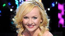 """En överlycklig och omtumlad Anna Bergendahl vann Melodifestivalen 2010 med låten """"This Is My Life"""""""