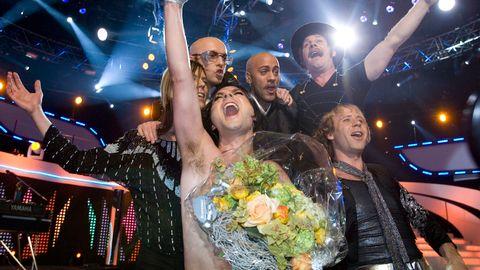 "The Ark blev vinnare av Melodifestivalen 2007 med låten ""The Worrying Kind""."