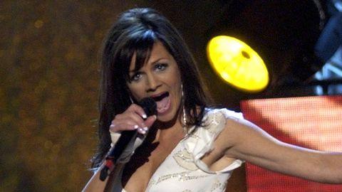 """Lena Philipsson vann Melodifestivalen 2004 med låten """"Det gör ont""""."""