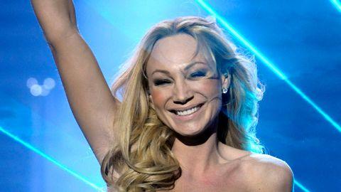"""Charlotte Perrelli tog hem sin andra vinst i Melodifestivalen med låten """"Hero""""."""