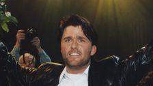 """Jan Johansen segrade i Melodifestivalen 1995. I Eurovision tog han Sverige till en tredjeplats med """"Se på mig""""."""