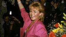 "Kicki Danielsson vann Melodifestivalen 1985 med låten ""Bra vibrationer""."