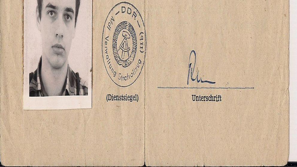 Jens Asche, som var politisk fånge i DDR, är övertygad om att han arbetade åt Ikea.