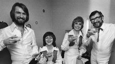 Family Four firar segern i Melodifestivalen för andra året i rad.