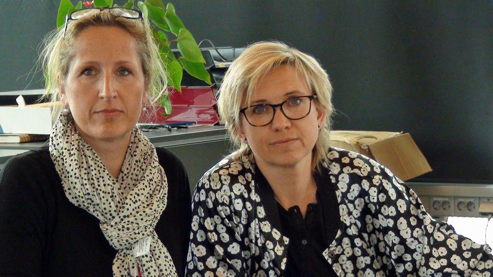 Uppdrag gransknings Sanna Klinghoffer och Nadja Yllner.