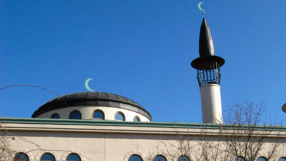 Stockholms stora moské vid Medborgarplatsen.